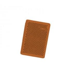 Catadioptre 57 X 39 MM - Latéral orange