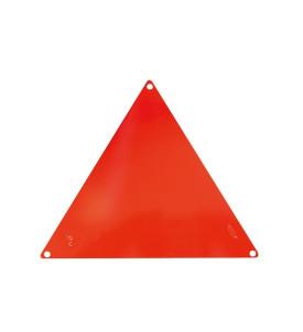 Triangle pour remorque en aluminium