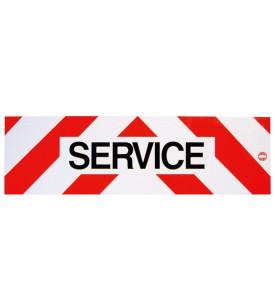 Panneau réfléchissant service - Métal