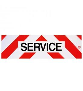 Panneau réfléchissant service - Adhésif