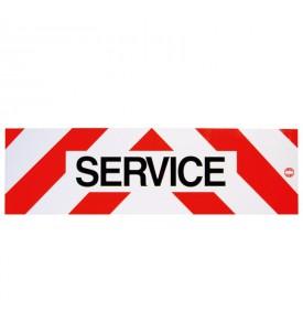 Panneau réfléchissant service - Magnétique