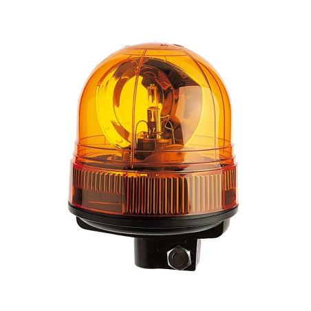 Gyrophare VEGA tige rigide 12 V - IP65 IP66 - H. 165 mm - Ø 128 mm