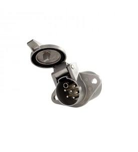 Socle aluminum ISO 3731 série S connexion à vis