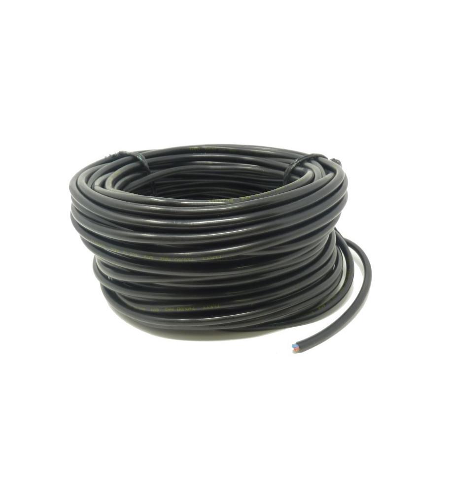 Câble 2 x 0,75 mm² - rouleau 25 m