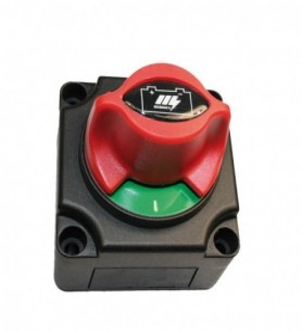 Sélecteur coupe batterie 2 positions avec poignée rotative