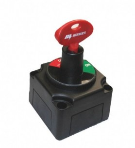 Interrupteur coupe batterie avec clé extractible