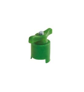 Robinet de batterie négatif - vert