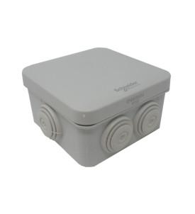 Boîte de dérivation - 7 entrées - 80 x 80 x 50 mm
